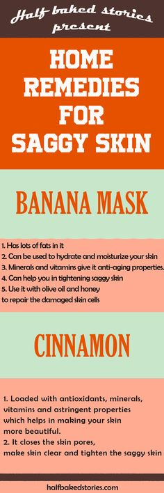Best Home Remedies for Saggy Skin Cinnamon and Banana Mask Tighten your skin #skincareproducts #skincare #skin #facemask #saggy #remedies #diy