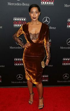 Tracee Ellis Ross WON Golden Globe Award for Best Actress in A Musical or Comedy Role in Black-ish