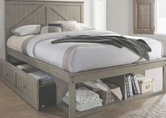 Ashland Youth Storage Bed (Weathered Grey) Lane Furniture in Kids Beds. Unisex Ashland Collection by Lane Furniture with great rustic styling, strength and durability to grow through years of use. Diy Storage Bed, Bed Frame With Storage, Diy Bed Frame, Full Size Storage Bed, Full Bed Frame, Lane Furniture, Bedroom Furniture, Bedroom Decor, Furniture Ideas