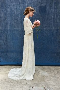 Always the same favorite for the Maison Floret collection. - We . - Always the same favorite for the Maison Floret collection. For this … – Wedding – this # - Boho Wedding Dress, Wedding Bride, Bridal Dresses, Wedding Day, Mermaid Wedding, Wedding Dress 2018, Lace Bridal, Modest Wedding, Wedding Poses