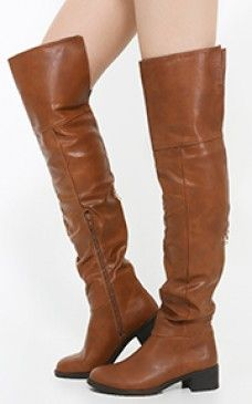 Alto-07 Thigh High Chunky Heel Riding Boots