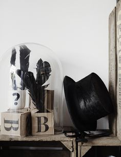 The Design Chaser: Interior Styling | Glass Domes