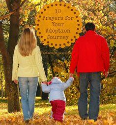 10 Prayers for Your Adoption Journey | via Faith Along the Way