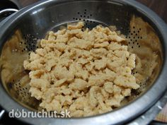 Fotorecept: Cícerové halušky Pie Cake, Food N, Gnocchi, Macaroni And Cheese, Oatmeal, Grains, Favorite Recipes, Healthy Recipes, Breakfast