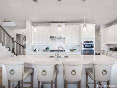Our spacious counters give you plenty of prep space, serving space, and just-having-fun space. Pulte Homes, Cool Kitchens, White Kitchens, Dream Decor, Dream Rooms, Kitchen Styling, Home Decor Styles, New Kitchen, New Homes