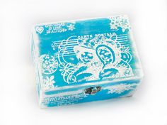 Christmas Wooden Box  5 1/2  / 4 / 2 1/2  by MyHouseOfDreams, $26.00
