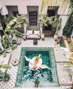 Бутик-отель мечты: Le Riad Yasmine в Марракеше - Simple + Beyond