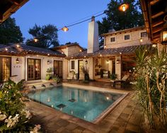 love the courtyard