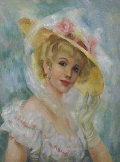 Impressioni Artistiche : ~ John Frederic Lloyd Strevens ~ Edwardian Era painter, 1902-1990