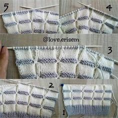 Beğendiği m model lerDiscover thousands of images about Knitting babyThis Pin was discovered by IriCome si lavora Baby Knitting Patterns, Knitting Stiches, Lace Knitting, Knitting Designs, Crochet Stitches, Stitch Patterns, Baby Sweaters, Stitch Design, Boot Socks