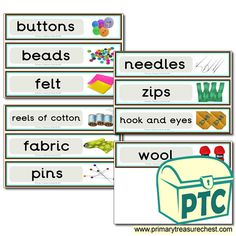 Classroom Equipment Drawer Labels & Posters - Primary Treasure Chest Teaching Activities, Teaching Ideas, Drawer Labels, Classroom Signs, Classroom Organisation, Large Drawers, Classroom Environment, Coat Hooks, Treasure Chest
