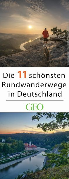 Die schönsten Rundwanderwege in Deutschland Hiking: The most beautiful hiking trails in Germany. Germany's circular hiking trails invite you to a relaxing day trip. We present the most beautiful routes and reveal the most idyllic places to rest and linger Beautiful Places To Visit, Cool Places To Visit, Places To Travel, Places To Go, Voyage Quotes, Koh Lanta Thailand, Voyage New York, Travel Tags, Excursion