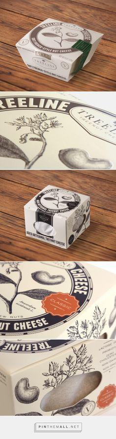 Treeline Treenut Cheese Packaging & Branding - created via http://pinthemall.net