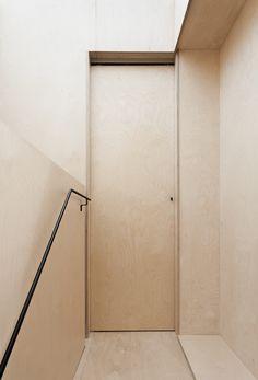 the plywood house . simon astridge architects . #architecture