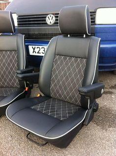 Seat trimming ideas please !! - VW T4 Forum - VW T5 Forum