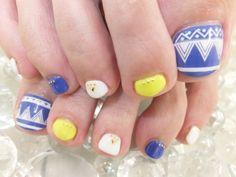 #Spartir #footnail #エスニックネイル Nail Art, Nails, Beauty, Fashion, Finger Nails, Ongles, Fashion Styles, Nail, Nail Arts