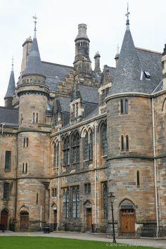 University of Glasgow via Lady's 3 Days in Glasgow - aladyinlondon