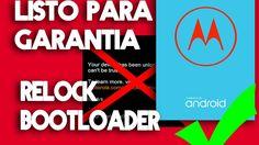 PARCHE MARZO; Bloquear bootloader Moto G4/Plus - Listo para garantía!  -...