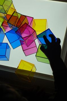 I'm more of a Reggio-Emilia fan, but some of the concepts do cross over between approaches, like this light table.