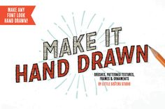 Make It Hand Drawn - Vector Kit by Little Sisters Studio on Creative Market