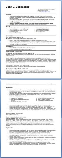 Manufacturing Engineer Resume Examples (Experienced) Creative - process engineer resume