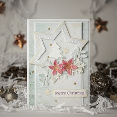 Beautiful handmade products to buy directly from the artists and designers. Christmas Cards, Merry Christmas, Poinsettia, Decorative Boxes, Arts And Crafts, Artist, Flowers, Handmade, Design