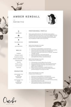 Template Cv, Modern Resume Template, Resume Templates, Graphic Design Resume, Cv Design, Portfolio Resume, Portfolio Web Design, Letter Templates, Cover Letter Template