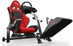 Racing Wheel Stand Cockpit Red