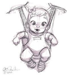 newborn baby boy drawing - Google Search