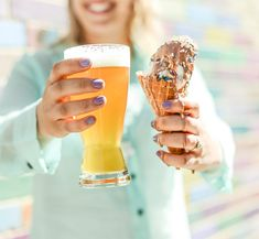 Beer Ice Cream.... Turn your homebrew or store bought beer into beer ice cream!