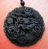 Black Green Jade Fortune Dragon Coins Amulet Pendant FREE SILK CORD JEWELRY POUCH - F/S$19.99   https://yardsellr.com/yardsale/Sweetu-Sunshine-742131?pap=742131