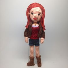 Ravelry: Amy Pond Doctor Who Amigurumi pattern by Allison Hoffman