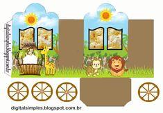 Safari Babies: Princess Carriage Shaped Free Printable Boxes.