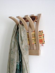 HANGER + HOLDER | wall mounted organizer - by Kathleen Carron