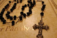 Handmade Rosary with crystals.