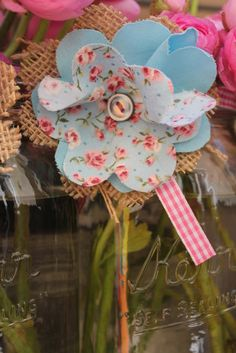 Vintage shabby chic cowgirl party Birthday Party Ideas   Photo 58 of 216   Catch My Party