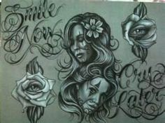Smile Now Cry Later By Marco Adame At The Secret Sidewalk Tattoos
