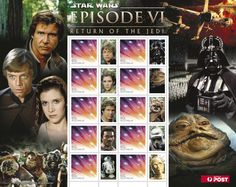 Return of the Jedi, released on May 25, 1983 = best StarWars movie of all?   StarWars #stamps http://auspo.st/PQBtbm