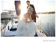 Sailing wedding , Italy