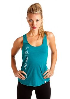 Pura Vida tank by Ten Tree... 10 trees planted for each one sold! On Ethical Ocean #eco
