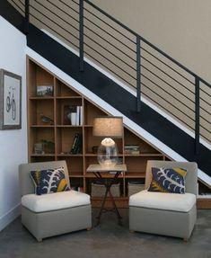 72 Brilliant Under Stairs Storage Ideas That Make Your House Look Stunning De- Understairs Storage Brilliant House Ideas stairs storage Stunning Interior Stairs, Interior Design Your Home, Stair Shelves, Staircase Storage, Stairs Design, Stair Nook, Minimalist Home, Stair Decor, Space Under Stairs