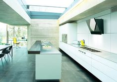 Contemporary Designer Cooking Hoods Embedded In Your Kitchen's Design