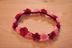 Easy flower headbands.