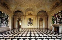 Castello di Rivoli - Sala degli Stucchi #rivolley #rivoli #volley #pallavolo #castellodirivoli #museo #contemporaryart #residenzesabaude