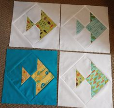 So Sept. was my month for the Bees Knees quilting group ;) I knew right off what I wanted to ask the ladies to make ;) Here's a little b...