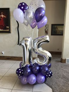 Balloon Columns, Balloon Wall, Balloon Garland, Happy Birthday Flower, Happy Birthday Balloons, Balloon Arrangements, Balloon Centerpieces, Number Balloons, Letter Balloons