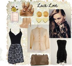 """""""Lace Love"""" by closetdash on Polyvore"""