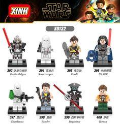 Star Wars Rogue One Darth Malgus snowtrooper Kordi Naare Inquisitor Building Blocks Christmas Toys Children