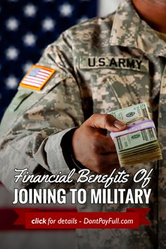 Financial Benefits Of Joining The Military - http://www.dontpayfull.com/blog/financial-benefits-of-joining-the-military