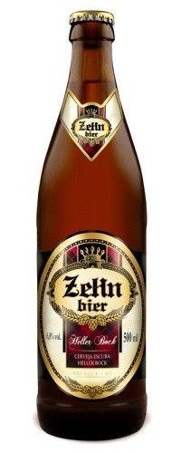 Cerveja Zehn Bier Heller Bock, estilo Maibock/Helles Bock, produzida por Cervejaria Zehn Bier, Brasil. 6.8% ABV de álcool.